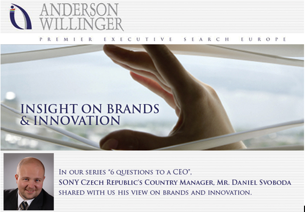 Insight on brands and innovation with country manager
