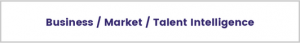 talent intellingence in executive search